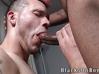 Black gay man fucks face and ass if ivory guy Legacy blacksonboys like there's no tomorrow