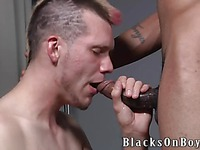 Tattooed guy Legacy blacksonboys sujcl black dick deep and then gets his cocj-hungry ass sruffed